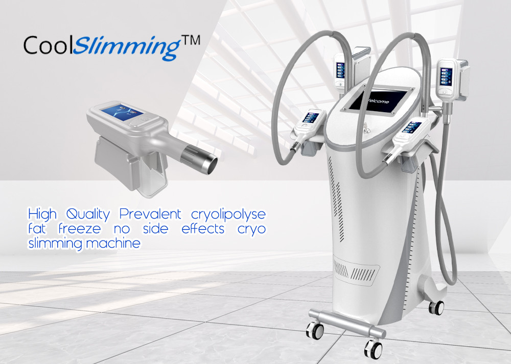 Stubborn Fat Removal Cellulite Reduction Machine For Beauty Salon Pain Free