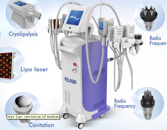 Stationary Type Multifunction Beauty Machine With Cooling System Medical CE Approved
